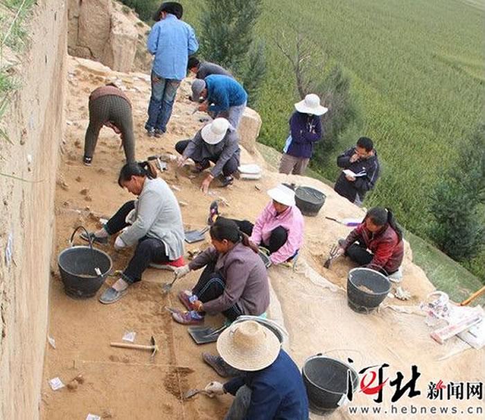 河北阳原泥河湾有一支农民考古队