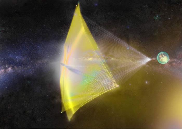 """霍金联合Yuri Milner启动""""突破摄星""""项目:开发纳米小型太空飞船飞往半人马座"""