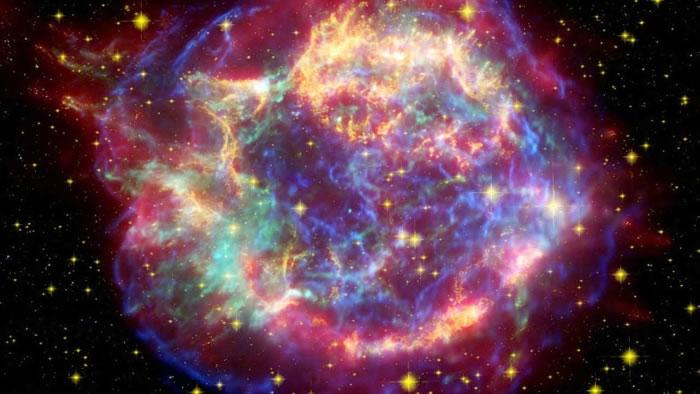 超新星爆炸会造成大量宇宙射线