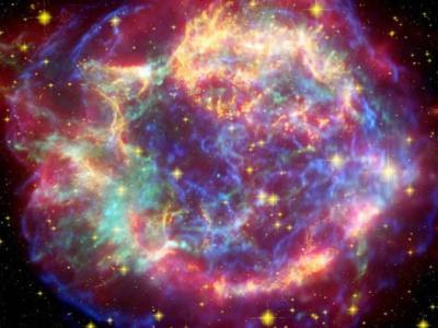 百万年前太阳系附近超新星爆炸 辐射碎片射到地球