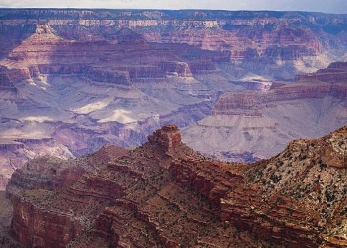 大峡谷国家公园是巧夺天工之天然奇景。