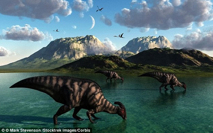 在小行星撞击引发大规模灭绝前 恐龙已出现逐渐但不可改变的衰退