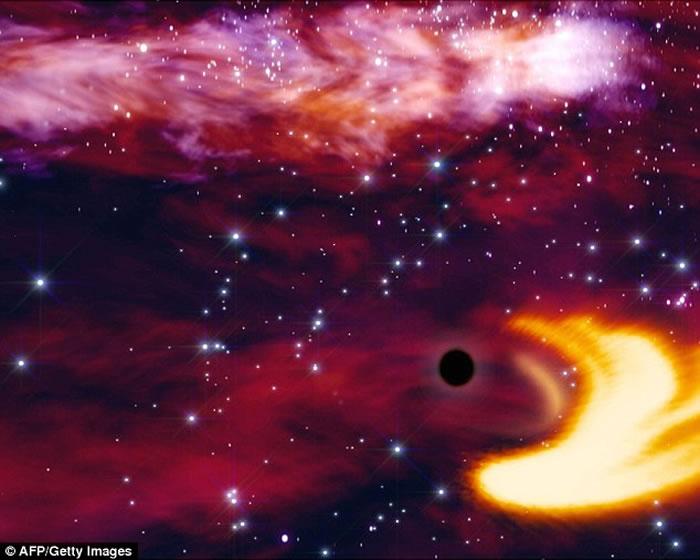 霍金:黑洞或是平行宇宙的入口