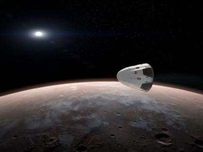 ����SpaceX'������˹������2018��ѡ�����Red Dragon��̫�մ����ϻ���