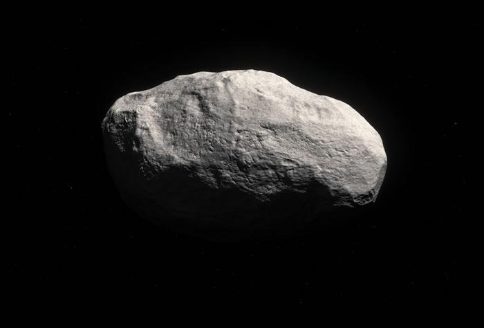 """如图所示,这是艺术家描绘的""""无尾彗星"""",它位于奥特星云之中,最新研究表明,它具有较长彗星轨道周期,具有原始太阳系内部小行星的特征。"""