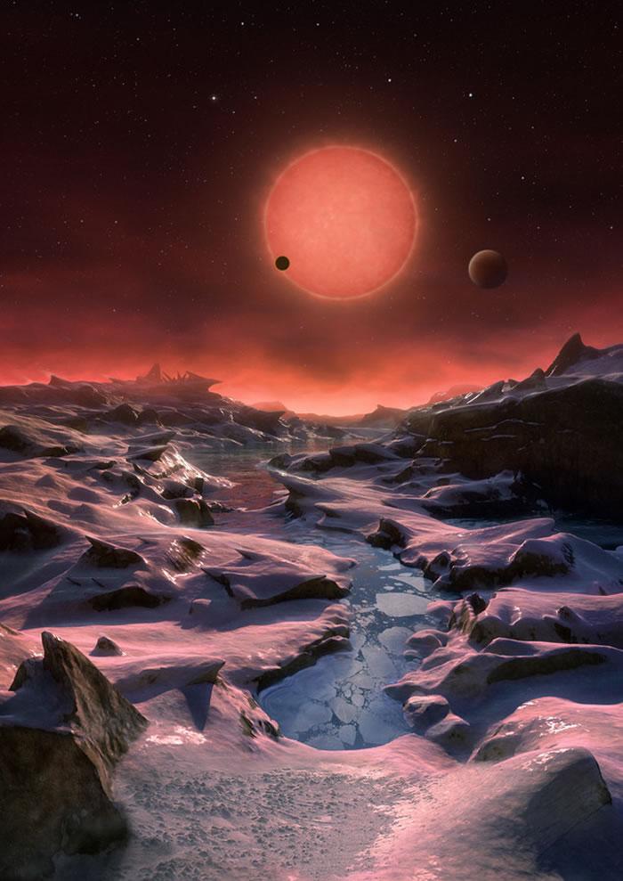 距离地球约39光年的超冷矮恒星TRAPPIST-1附近发现3颗类似地球的行星