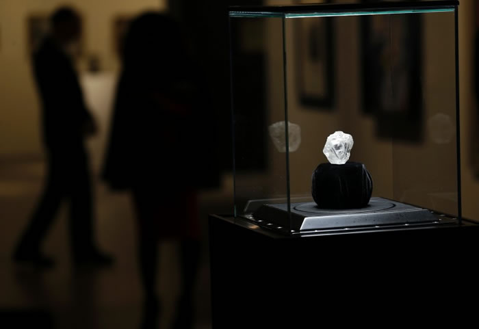 """Lesedi la Rona""目前放于纽约作展览。"