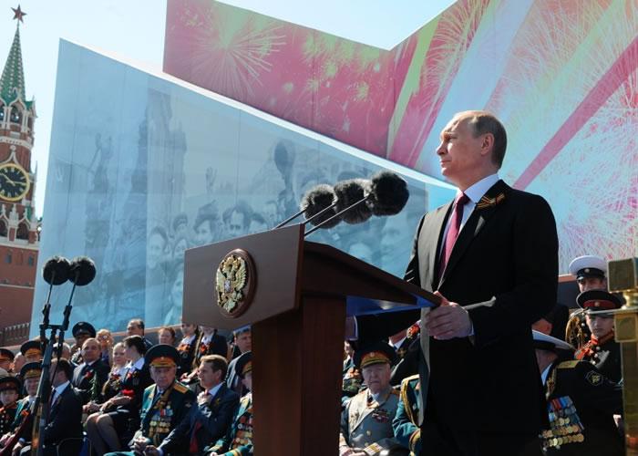 普京发表讲话呼吁全球共抗国际恐怖主义。