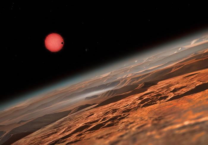 天文学家首次发现有三颗行星环绕极低温的矮星运转