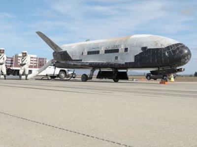 美国空军最神秘的太空船X-37B在地球轨道飞行将满一年 至今没有透露任务性质