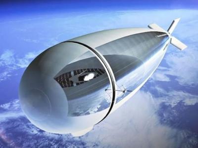 法国及意大利合资的太空公司研发太阳能无人飞艇Stratobus 可在平流层飞行