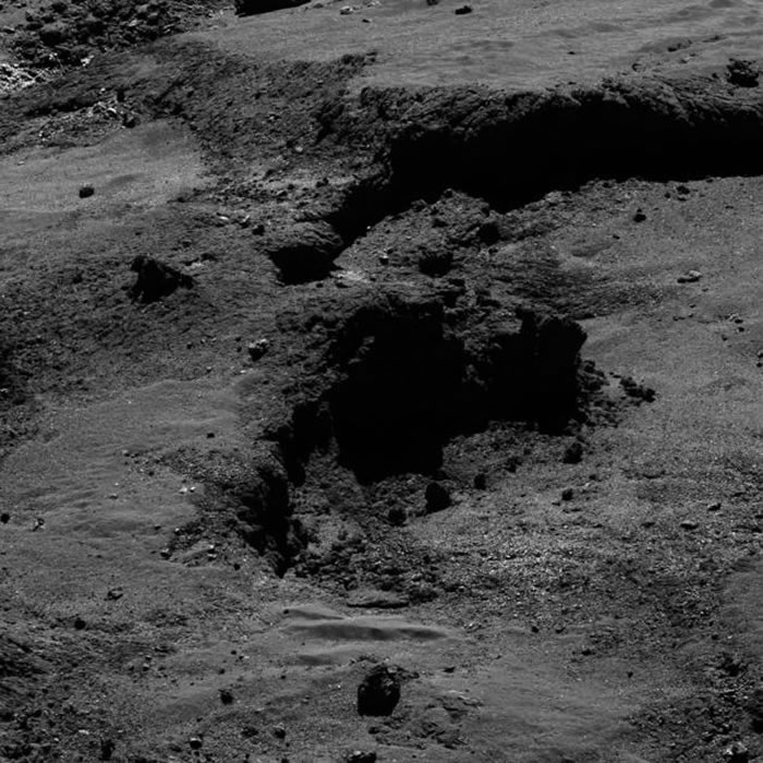 67P/楚留莫夫-格拉希彗星表面