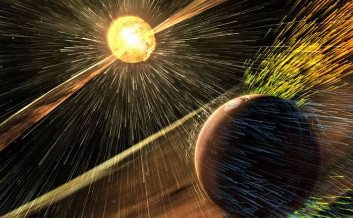 研究指超级太阳风暴协助原始地球孕育生命