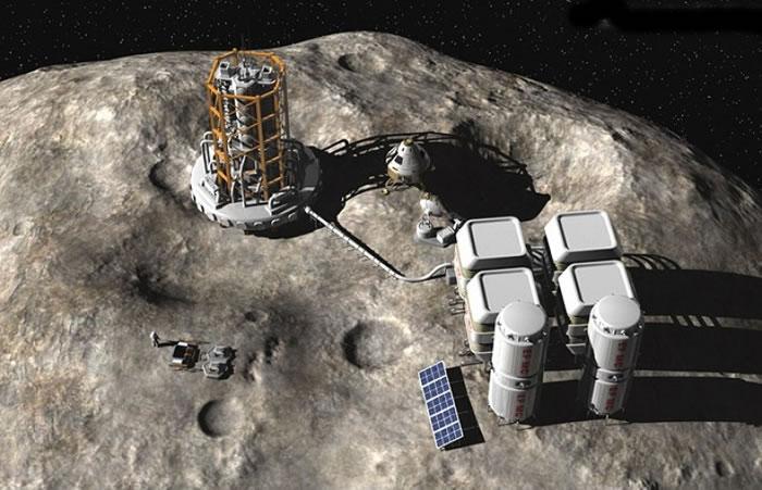 人类在小行星上采矿快将成为事实。