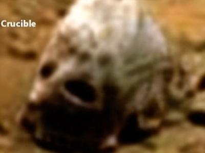 NASA火星照片惊现外星人骷髅头?