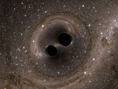 听见黑洞相撞的声音 重力波再现!