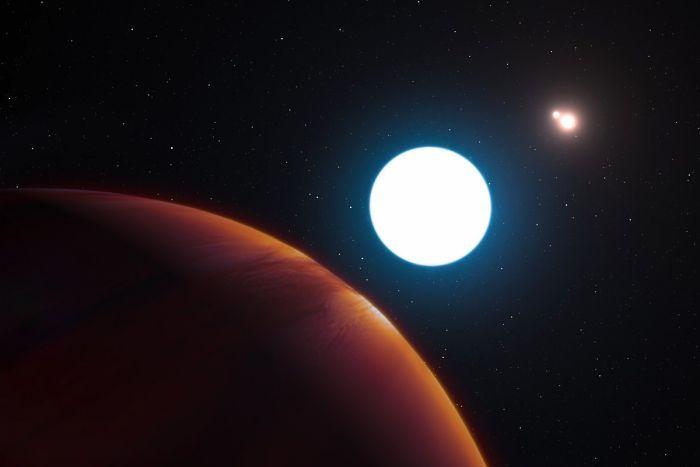 一颗遥远的行星HD 131399Ab拥有三个太阳