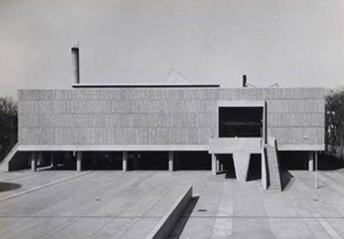 日本国立西洋美术馆出自柯布西耶手笔。