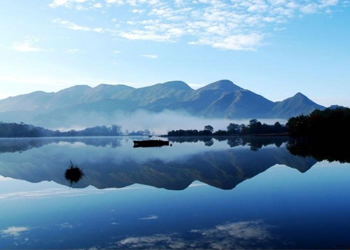 神农架大九湖是游人必到之处。