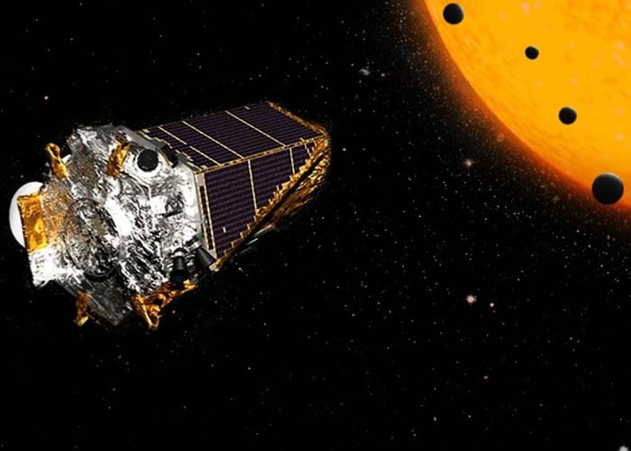 开普勒太空望远镜发现多颗新行星。