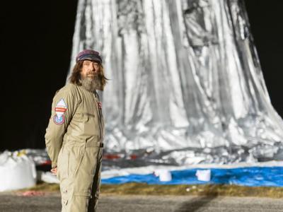 俄罗斯探险家坐热气球11日环游世界破纪录