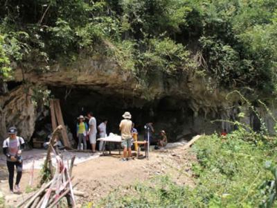 贵州贵安新区招果洞发现距今3万年古人类洞穴遗址