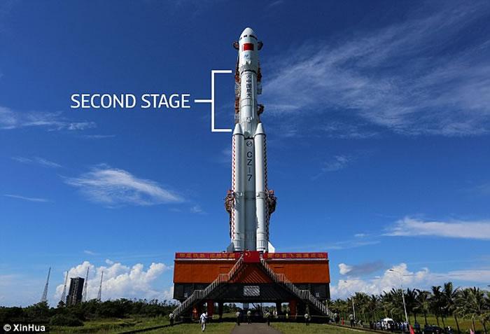 美国各地夜空同时出现UFO舰队?证实为中国长征七号火箭残骸