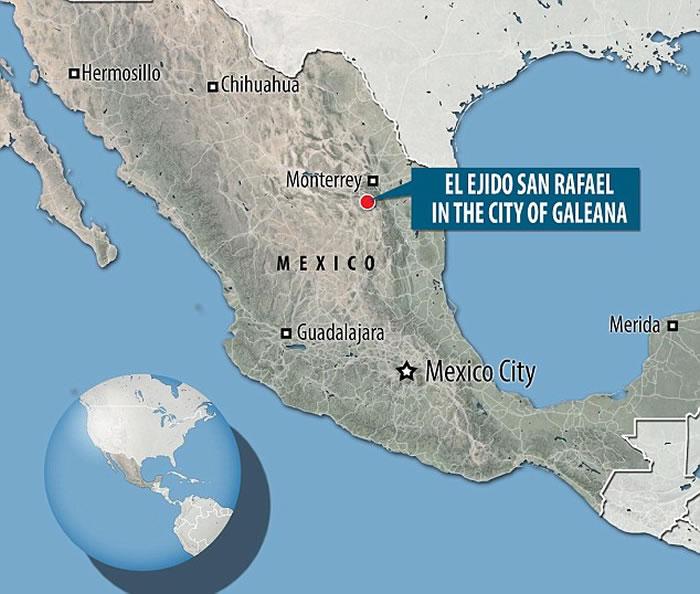 墨西哥建筑工人在施工中发现哥伦比亚猛犸象化石