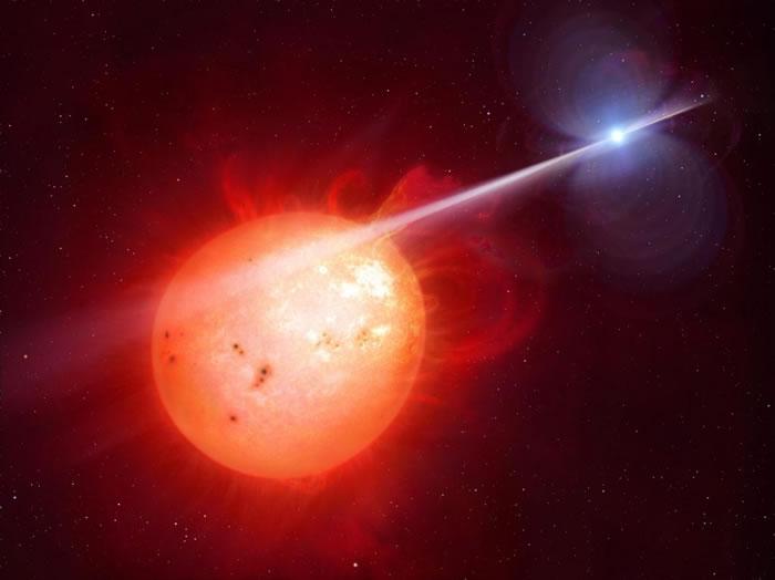奇怪的AR天蝎座双星系统(AR Scorpii)