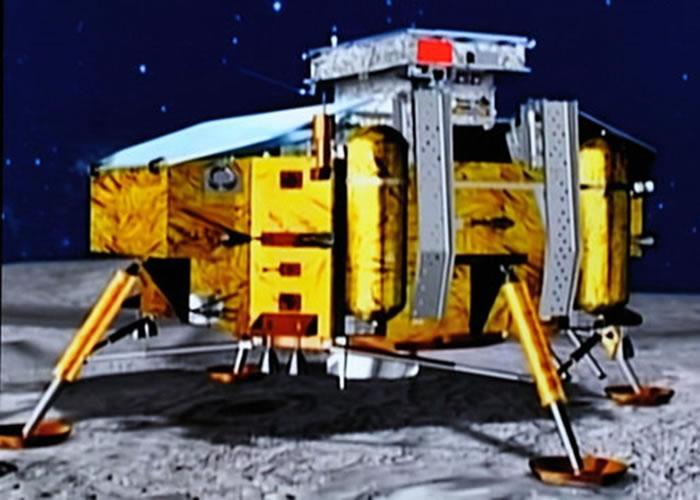 """""""嫦娥三号""""创下在月球表面工作时间最长的世界纪录,并首次证明月球上没有水。"""