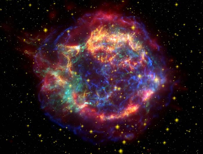 发现200万年前被一颗超新星抛入太空的铁原子在地球上的痕迹