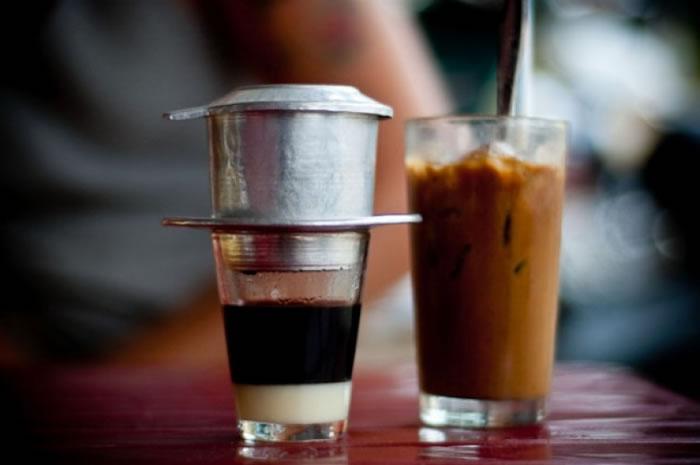 冰滴咖啡是越南人的最爱。