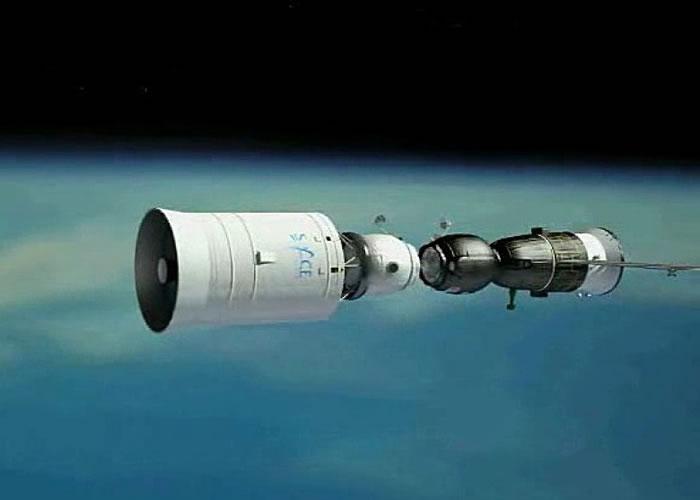 参加Space Adventures探月之旅的游客,会乘坐联合号太空船(图)环月球飞行。