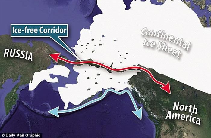 新研究称人类冰河时期通过白令陆桥进入美洲的传统观念不正确