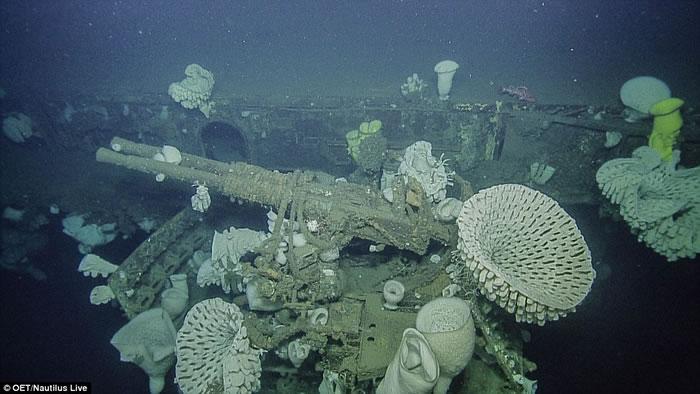 美国加州外海发现独立号航空母舰(USS Independence CVL-22)残骸