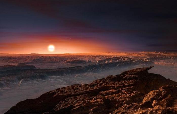 """天文学家发现有史以来离地球最近的宜居行星""""比邻星b""""(Proxima b)"""