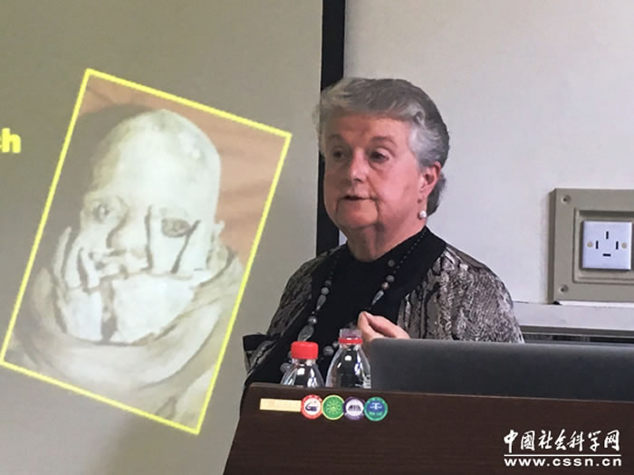 "Jane-Buikstra教授作题为""Bioarcheology,-Paleopathology-and-the-history-of-Tuberculosis"