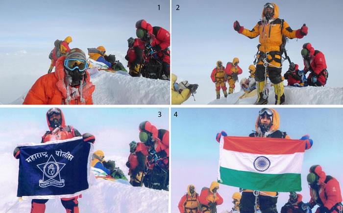 印度夫妇称成功登上珠穆朗玛峰被证照片PS造假 10年内不得再爬尼泊尔的山