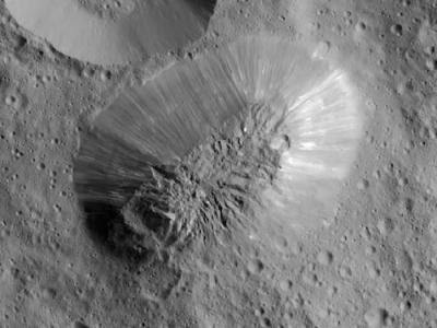 黎明号飞船揭示谷神星上有火山口、裂缝和冰火山