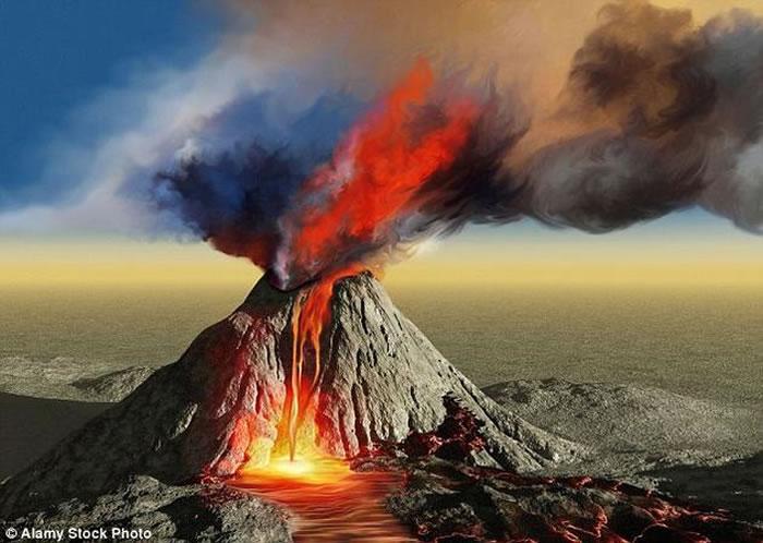 """距今大约2.5亿年前的""""二叠纪-三叠纪灭绝事件"""",该事件发生之后长达数百万年时间内生命都未能恢复元气,远远超出了其他灭绝事件,因而被称作""""大死亡""""。其成因或与西"""
