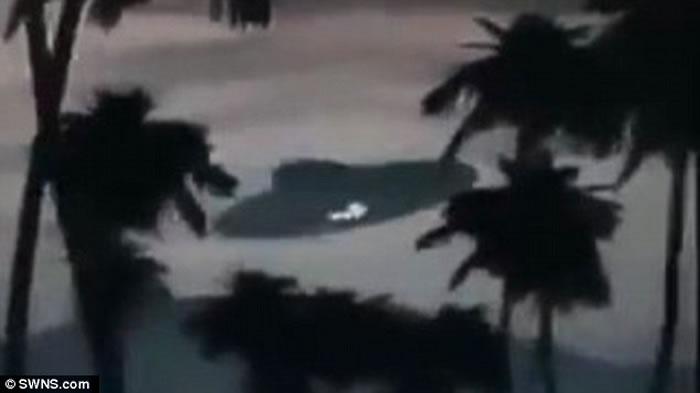马来西亚惊现巨大UFO 原来只是恶作剧?
