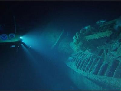 美国北卡罗莱纳州海底发现二战纳粹德军U型潜艇U576残骇 德国不取回让其安息