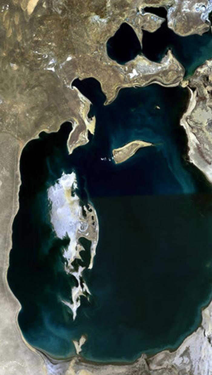 咸海在1989年的样貌