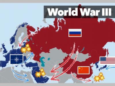 世界步向灾难性的第三次世界大战可能性60年来最高 牵涉中美俄全球冲突