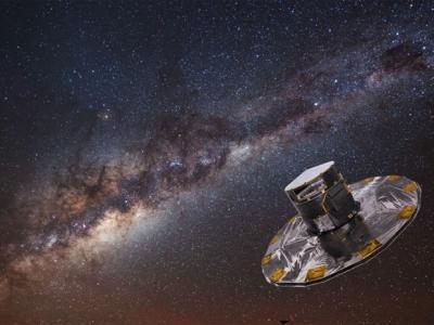 盖亚太空望远镜测逾11亿恒星 绘最精确银河系地图