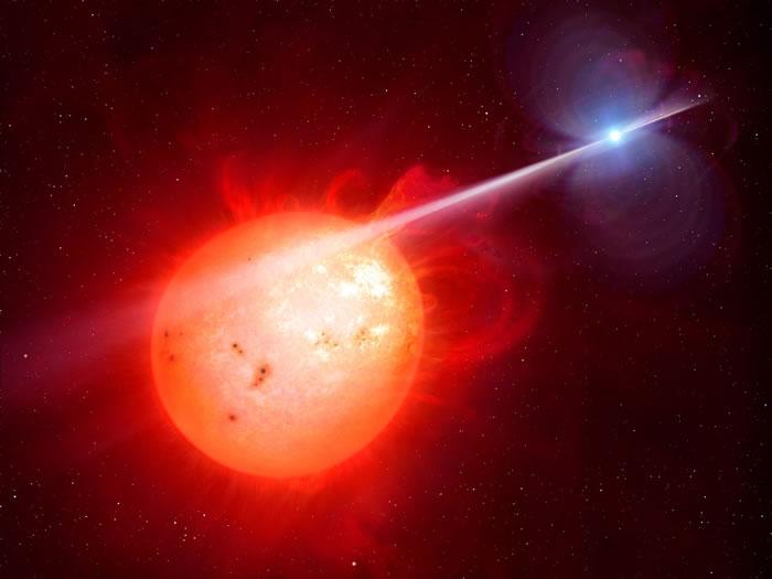"""前所未见的奇怪双星""""天蝎座AR"""" 首度发现白矮星有电波脉冲"""