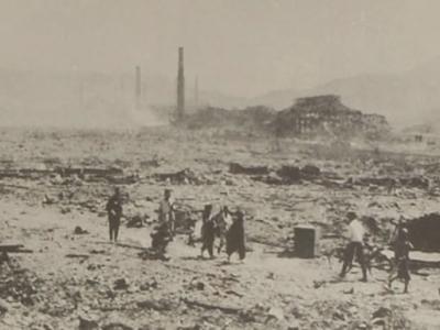 二战日军随军摄影师山端庸介所拍的长崎原爆从未公布照片曝光