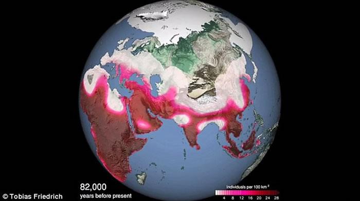 地球轨道和倾斜角的轻微变化影响古人类迁移 或与人类走出非洲有密切关系