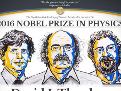 3名美国科学家因研究拓朴学而共同夺得诺贝尔物理学奖
