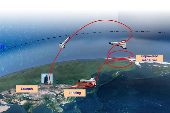 中国研制世界最大太空飞机 可一次搭载20名游客飞抵太空边缘